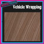 "10M X 1370mm (52"")  VEHICLE CAR WRAPPING WRAP DECO WOOD EFFECT NEW 2012 - 160720980255"